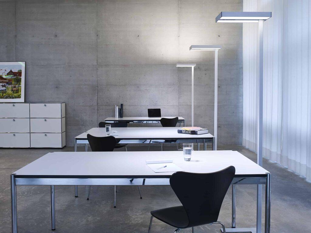 Gutes Licht für Büro-Arbeitsplätze